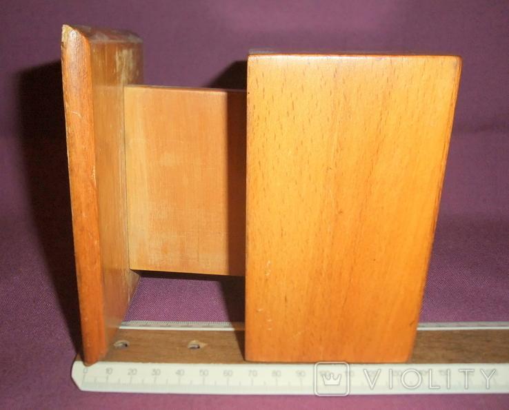 Сигаретница - папиросница. Дерево ручное изготовлоение., фото №11