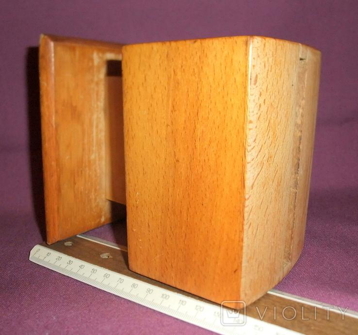 Сигаретница - папиросница. Дерево ручное изготовлоение., фото №12