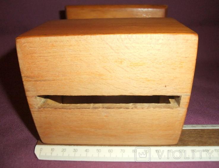 Сигаретница - папиросница. Дерево ручное изготовлоение., фото №13