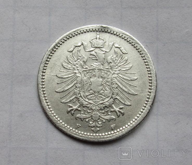20 пфеннигов 1874 (F), Германия, серебро, фото №8