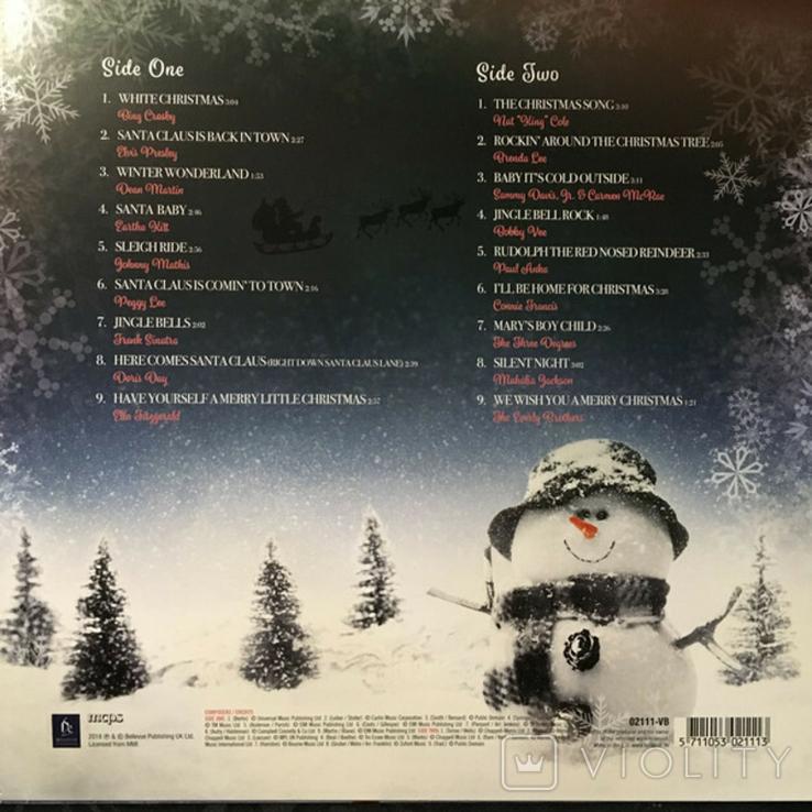 V.A. Sinatra, Presley, Martin, Nat King Cole - Christmas Hits- 2018. Пластинка, фото №3
