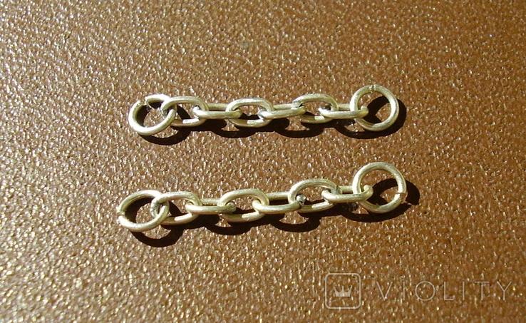 Копия цепей на знак(серебро 925), фото №2