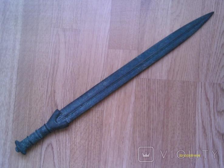 Бронзовий меч типу Науе, фракійський гальштат. Репліка., фото №2