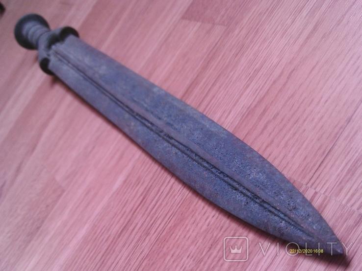 Бронзовий меч типу Науе, фракійський гальштат. Репліка., фото №13