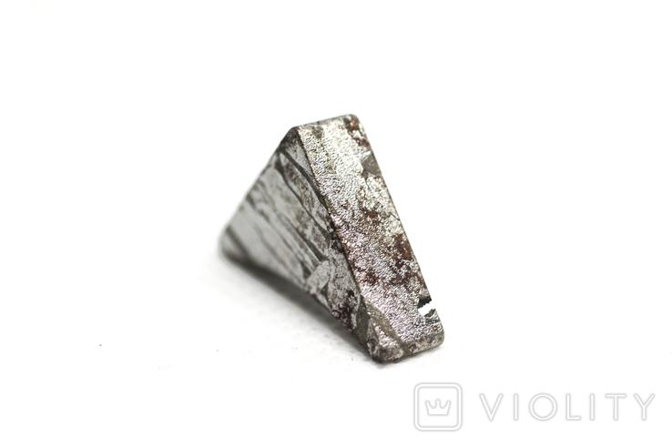 Заготовка-вставка з метеорита Seymchan, 6,6 г, із сертифікатом автентичності, фото №10