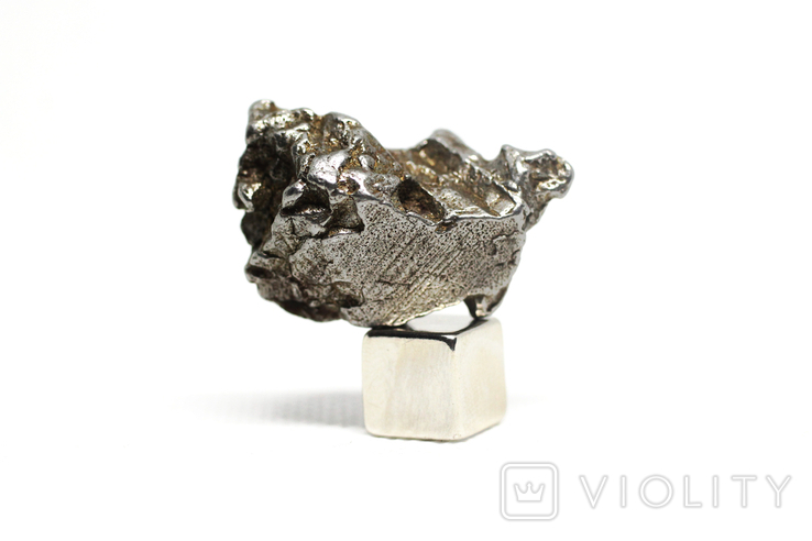 Залізний метеорит Campo del Cielo, 21,4 грам, із сертифікатом автентичності, фото №7