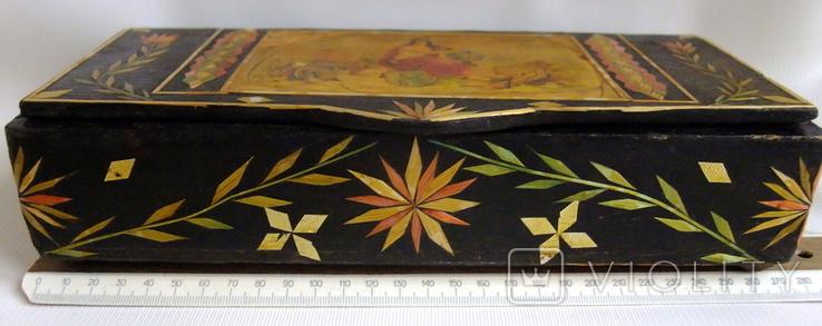 Шкатулка - коробка - хьюмидор для хранения сигар. Дерево авторская ручная работа., фото №4