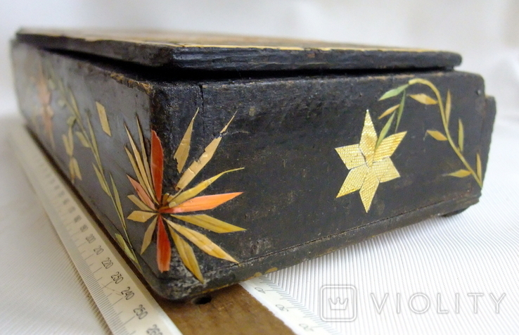 Шкатулка - коробка - хьюмидор для хранения сигар. Дерево авторская ручная работа., фото №8