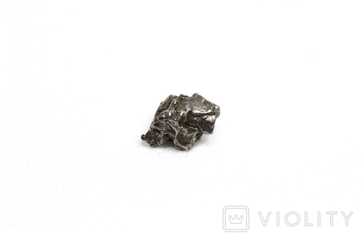 Залізний метеорит Campo del Cielo, 2,0 грам, із сертифікатом автентичності, фото №8