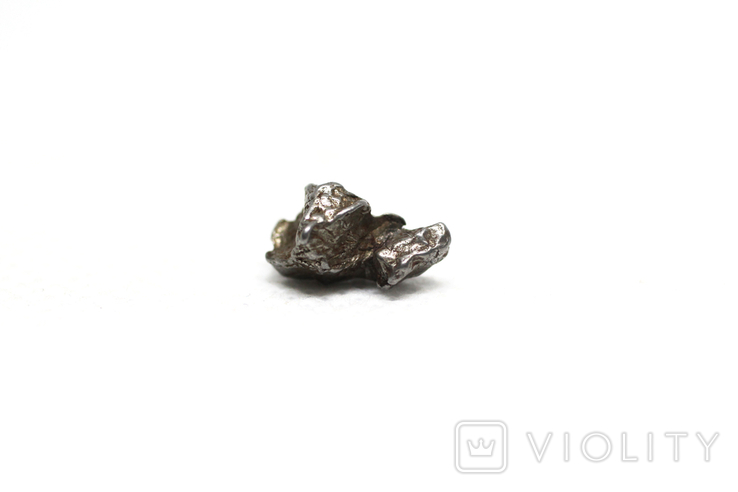Залізний метеорит Campo del Cielo, 1,2 грам, із сертифікатом автентичності, фото №5