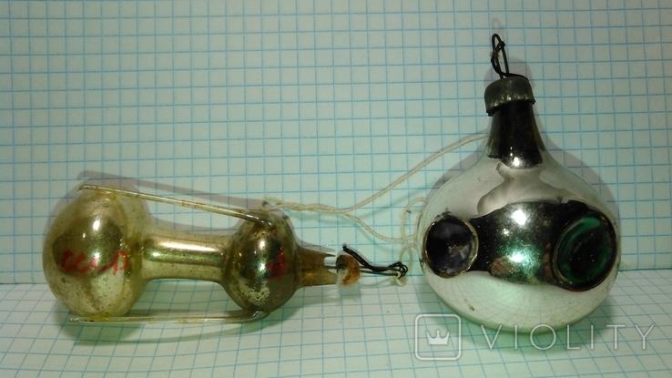 Ёлочная игрушка Спутник Мир + Бонус, фото №2