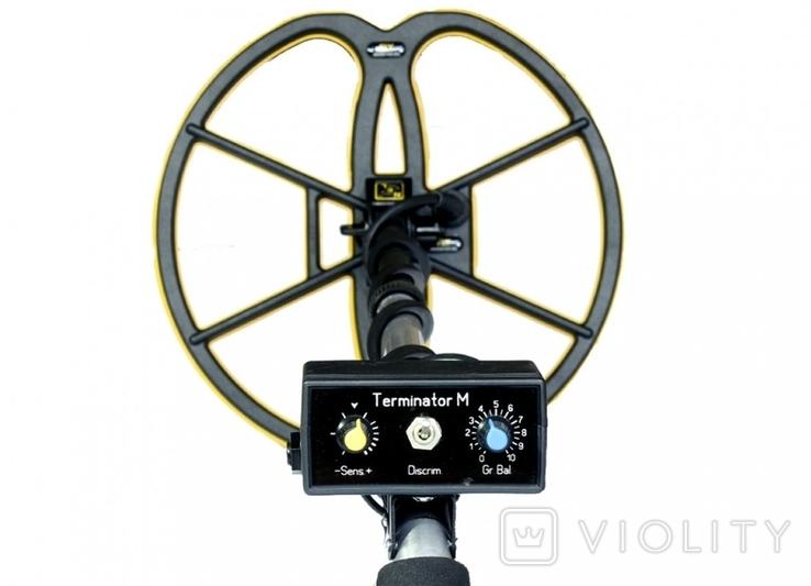 Металлоискатель Терминатор М 2-частотный + NEL FLY, фото №6
