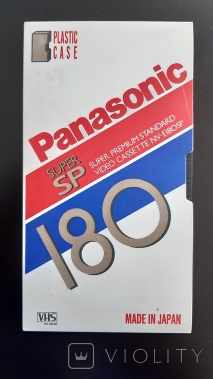 Відеокасета Panasonic Super SP 180, фото №2