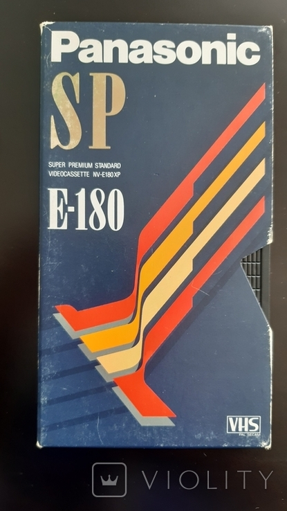 Відеокасета Panasonic SP Е-180, фото №2