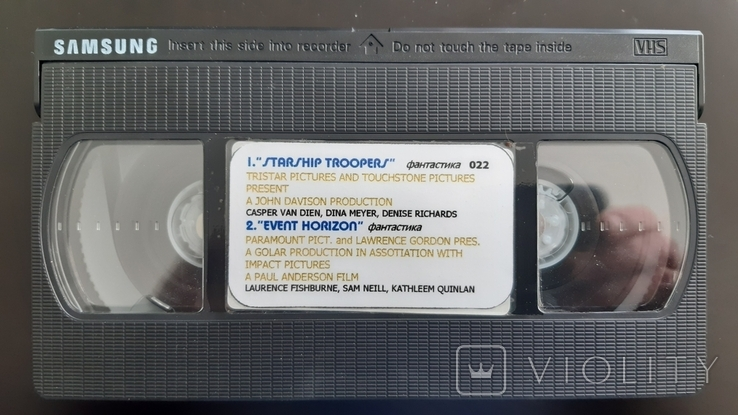 Відеокасета Samsung Super RD, фото №3