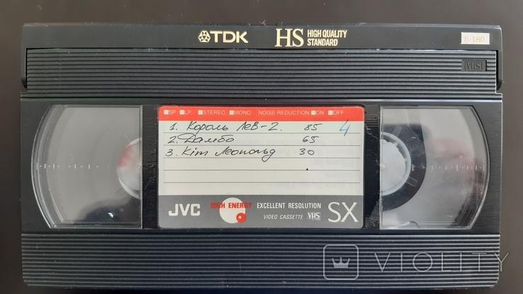 Відеокасета TDK HS №3, фото №3