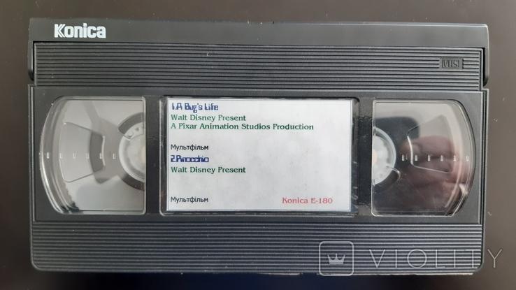 Відеокасета Konica Super SR E-180 №2, фото №3
