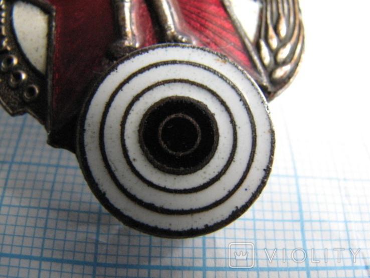 Знак Ворошиловский стрелок № 450272 (большой), фото №7