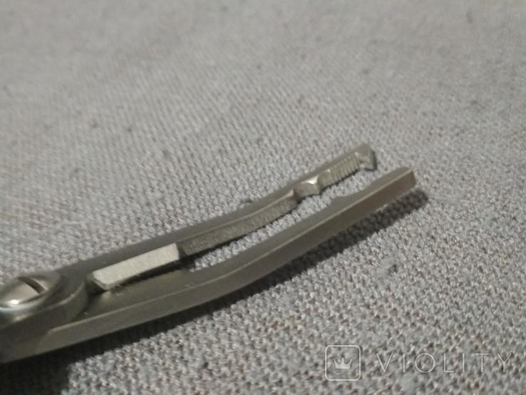 Рыбацкий Нож Пила Клещи для снятия крючка Крючкосниматель, фото №7