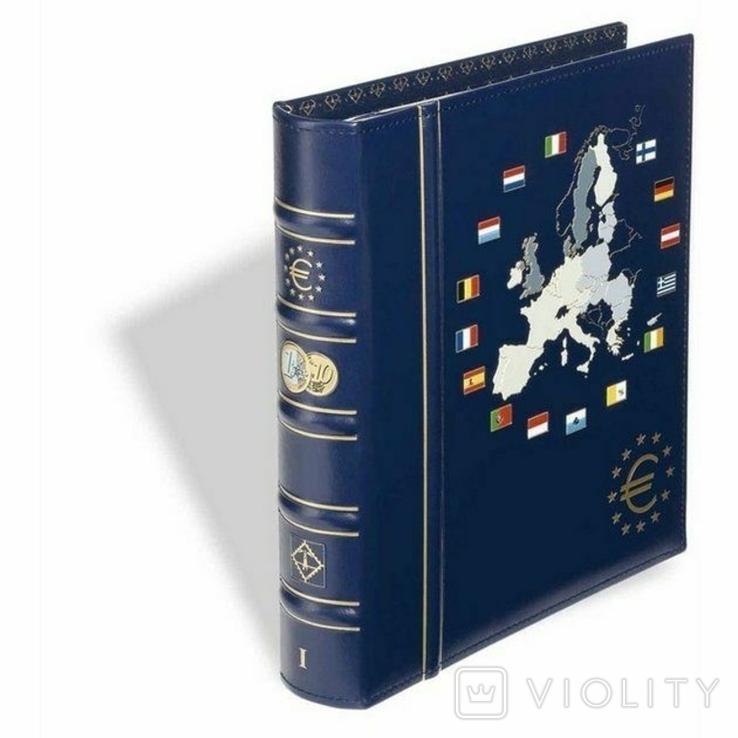 Альбом Vista для наборов eвромонет (12 стран) с футляром., фото №2