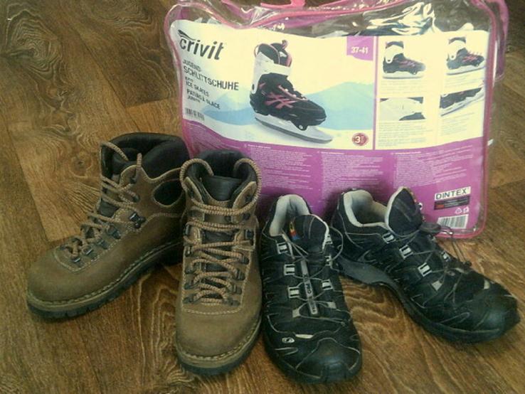 Коньки ,ботинки,кроссовки разм.38, фото №3