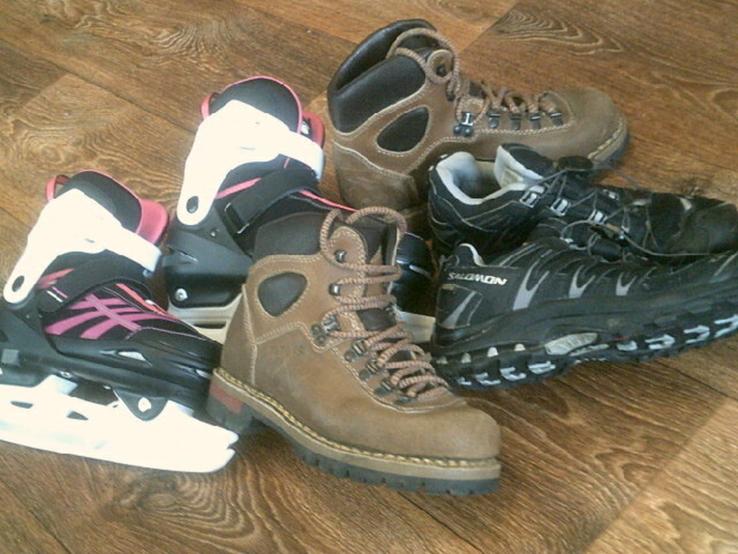 Коньки ,ботинки,кроссовки разм.38, фото №13