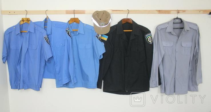 Служебная форма Полиция Украины Куртка 4 рубашки Кепка, фото №2