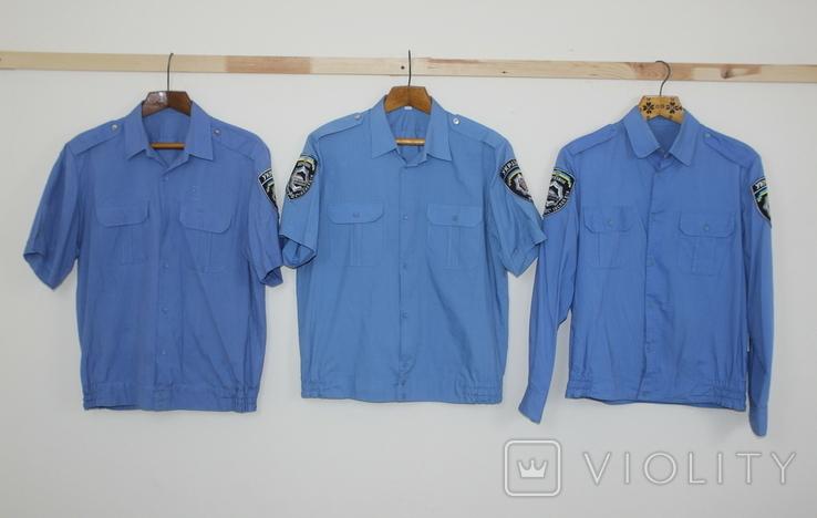 Служебная форма Полиция Украины Куртка 4 рубашки Кепка, фото №10