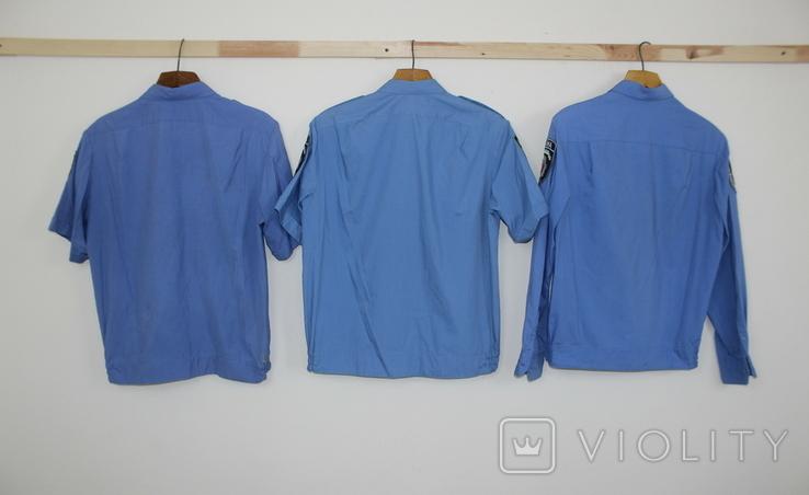 Служебная форма Полиция Украины Куртка 4 рубашки Кепка, фото №11