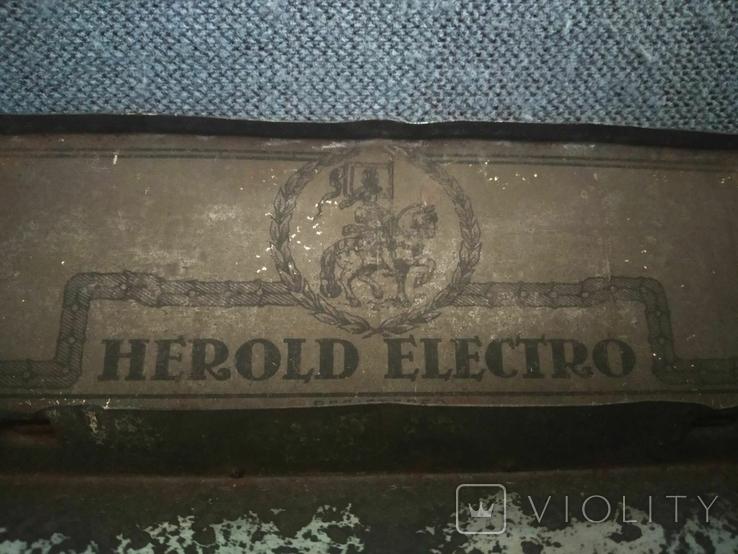 Cаринная коробочка Herold Electro от Игл Граммофонных Германия, фото №4