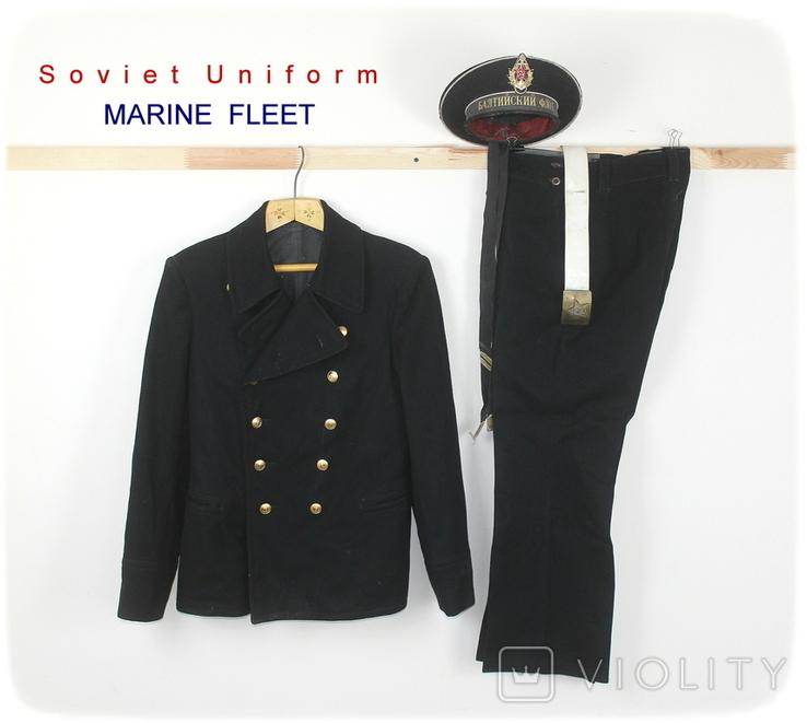 Форма армии СССР Морская форма Моряк Матрос, фото №2