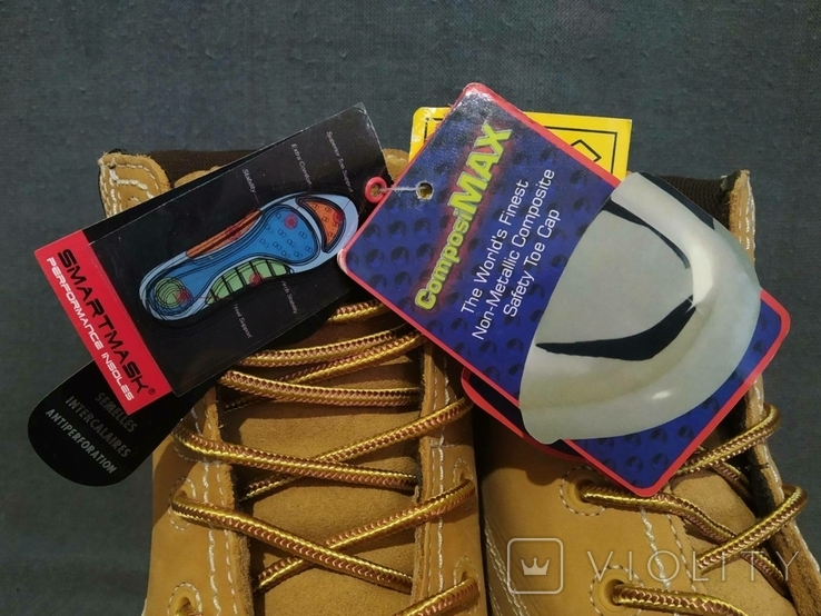 Ботинки TROJAN новые 42 размер Кожа, фото №3