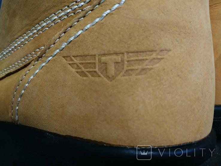 Ботинки TROJAN новые 42 размер Кожа, фото №11