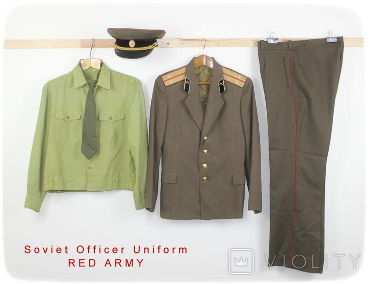 Форма армии СССР Артиллерия Лейтенант Комплект, фото №2