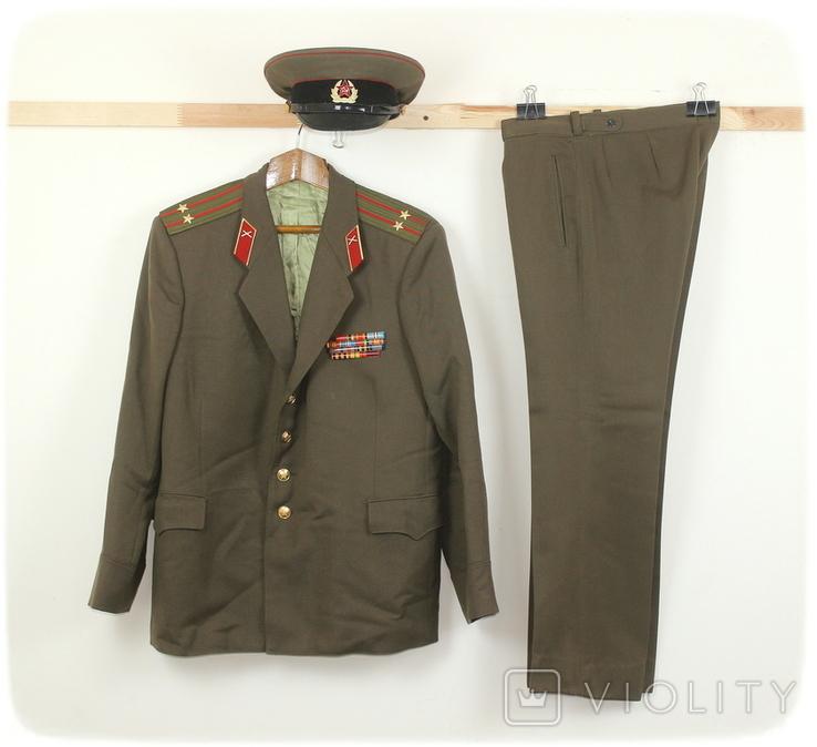 Форма армии СССР Артиллерия Подполковник, фото №2