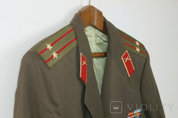 Форма армии СССР Артиллерия Подполковник, фото №8