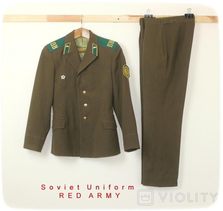 Форма армии СССР Пограничник, фото №2