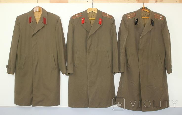 Форма армии СССР Плащ 3 штуки, фото №2