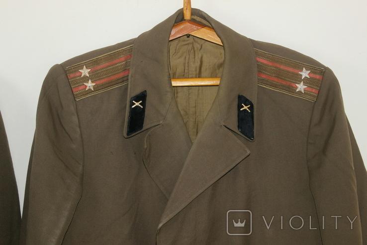Форма армии СССР Плащ 3 штуки, фото №3