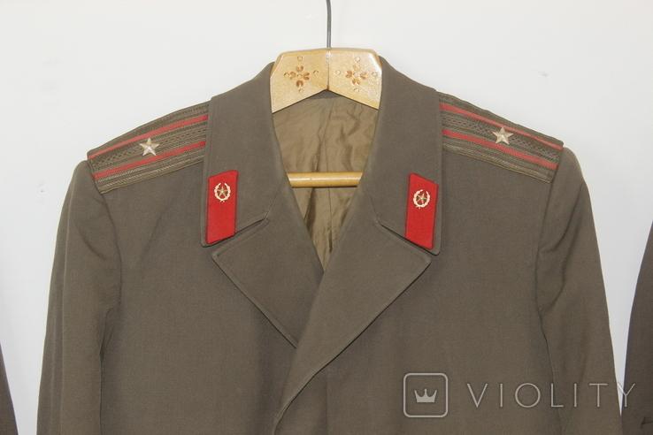 Форма армии СССР Плащ 3 штуки, фото №4