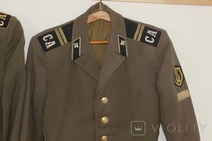 Форма армии СССР Китель Мундир Пиджак 6 штук, фото №4