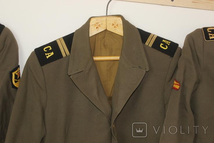 Форма армии СССР Китель Мундир Пиджак 6 штук, фото №6