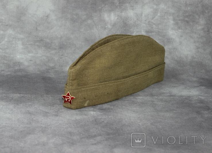 Форма армии СССР Пилотка Тонак Перчакки Шарф, фото №8