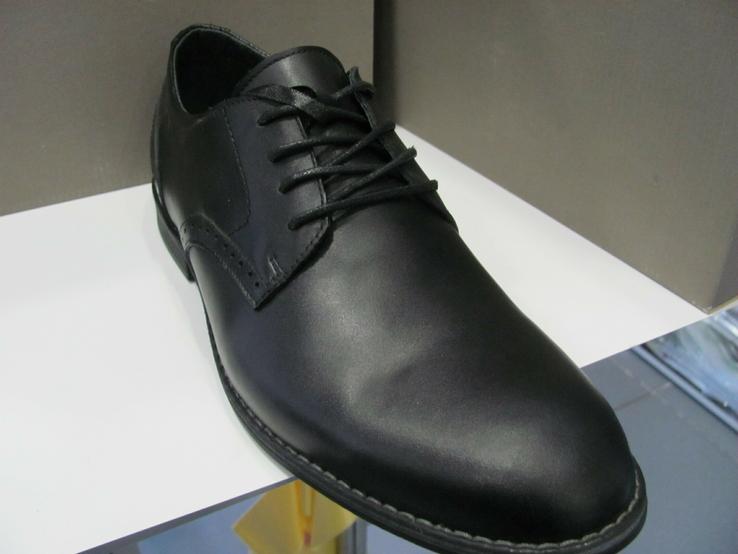 Туфли мужские TIGER натуральная кожа 42 раз 95, фото №6
