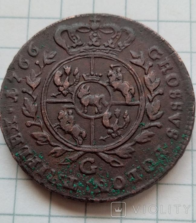 3 гроша 1766., фото №3