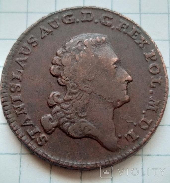 3 гроша 1766., фото №6
