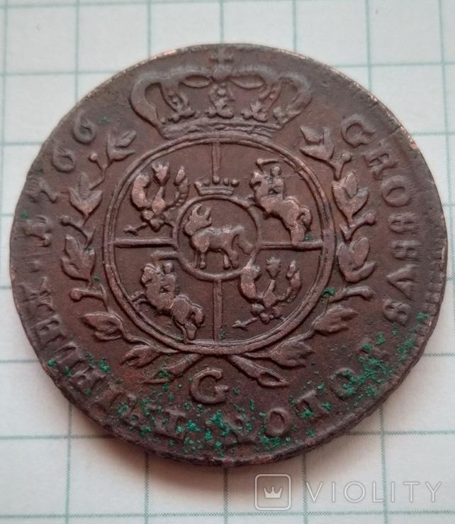 3 гроша 1766., фото №7