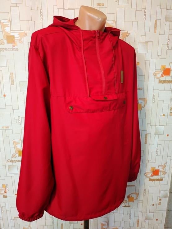 Куртка легкая. Ветровка с антимоскитной сеткой ANAR Финляндия p-p XXXL(состояние нового), фото №4