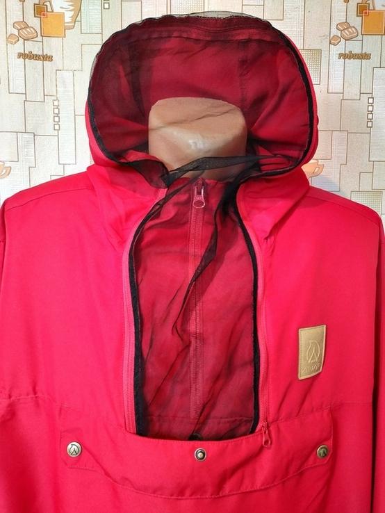 Куртка легкая. Ветровка с антимоскитной сеткой ANAR Финляндия p-p XXXL(состояние нового), фото №2