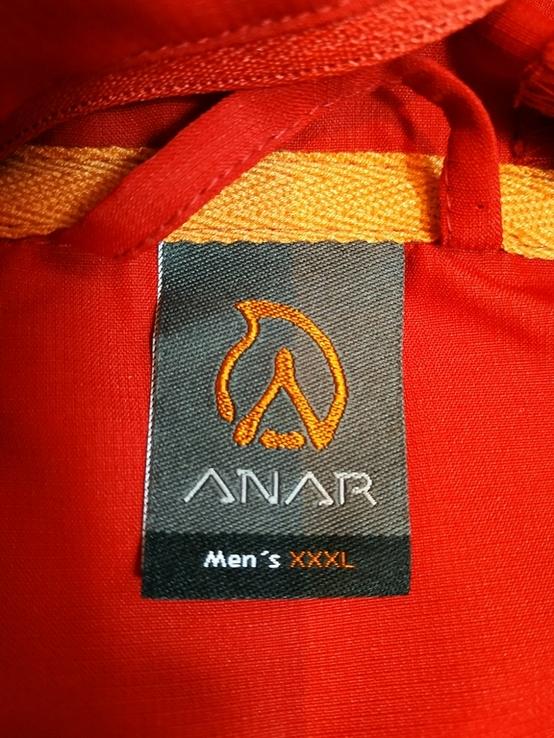 Куртка легкая. Ветровка с антимоскитной сеткой ANAR Финляндия p-p XXXL(состояние нового), фото №10
